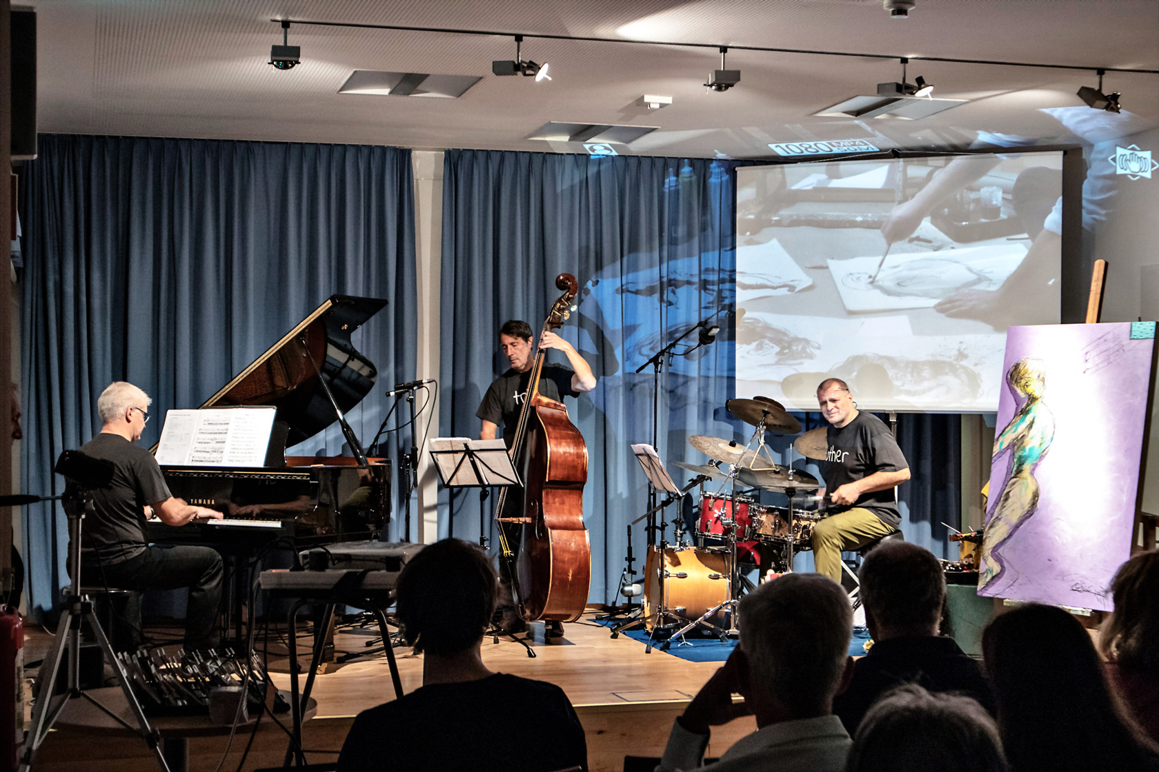 "Do, 18. Okt. 2018, 19h00, :: another trio :: plus Osso, ""Jazzherbst Wieden"", 1040 Wien"